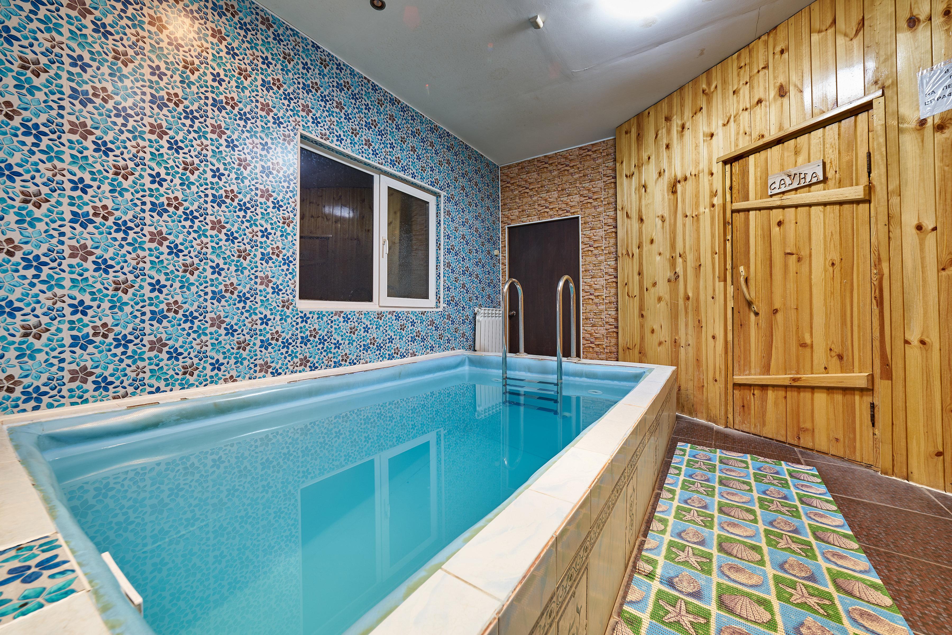 Сауна с бассейном для похудения