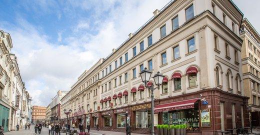 16670526441 Торгово-офисный центр Никольская Плаза на Никольской улице