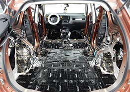 фотография Шумоизоляция автомобиля