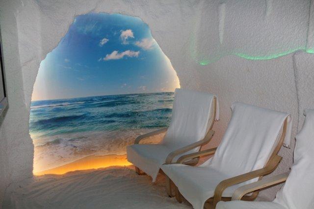 фотография Соляной пещеры Гало Дель Соль в Химках