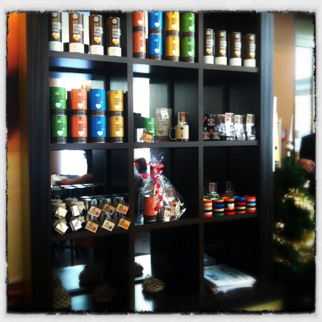 фотография Кафе Шоколадница в ТЦ Метрополис на втором этаже