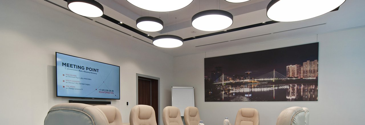фотография Бизнес-пространства Meeting Point в ТРК VEGAS Крокус–Сити