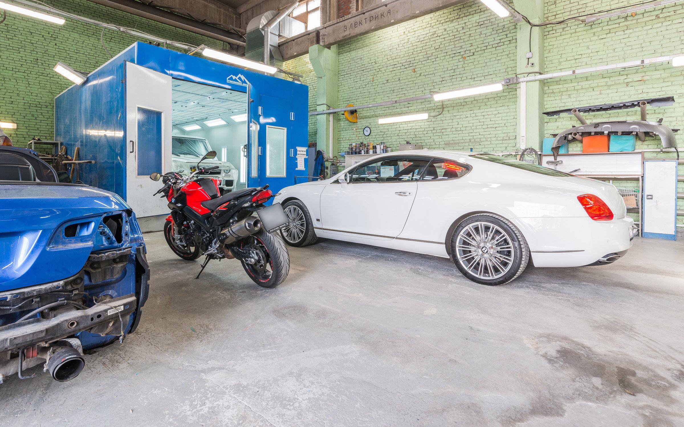 фотография Центра кузовного ремонта Кузовок в 1-м Нагатинском проезде, 13