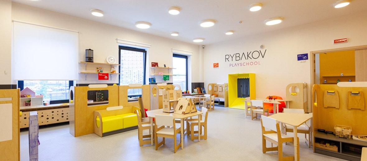 Фотогалерея - Детский сад Rybakov Playschool на Саларьевской улице