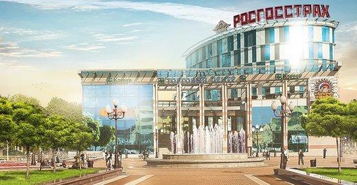 фотография Многофункционального комплекса Кловер Сити-Центр на площади Победы