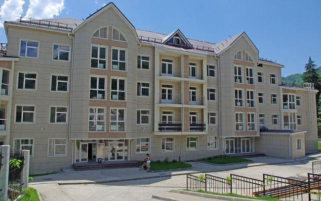 фотография Городской больницы №8 в Красной Поляне