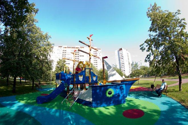 фотография Парка по Олонецкому проезду в Олонецком проезде