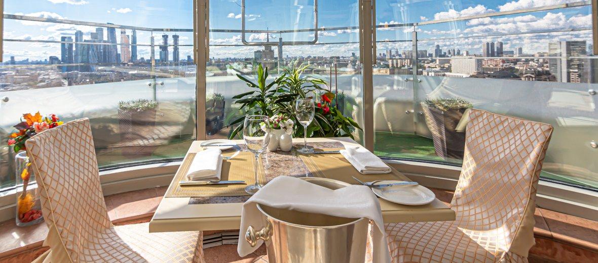 Фотогалерея - Зимний сад ресторана Панорама Golden Ring Hotel
