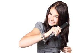 фотография Выпрямление волос