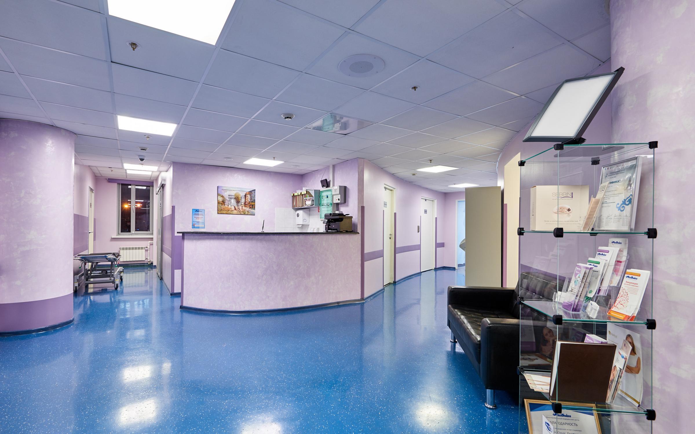 фотография Стационарного хирургического отделения медицинского центра MedSwiss на Гаккелевской улице