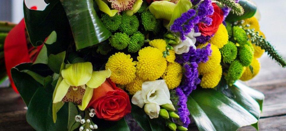 фотография Сеть оптово-розничных салонов цветов Крона на улице Воронова