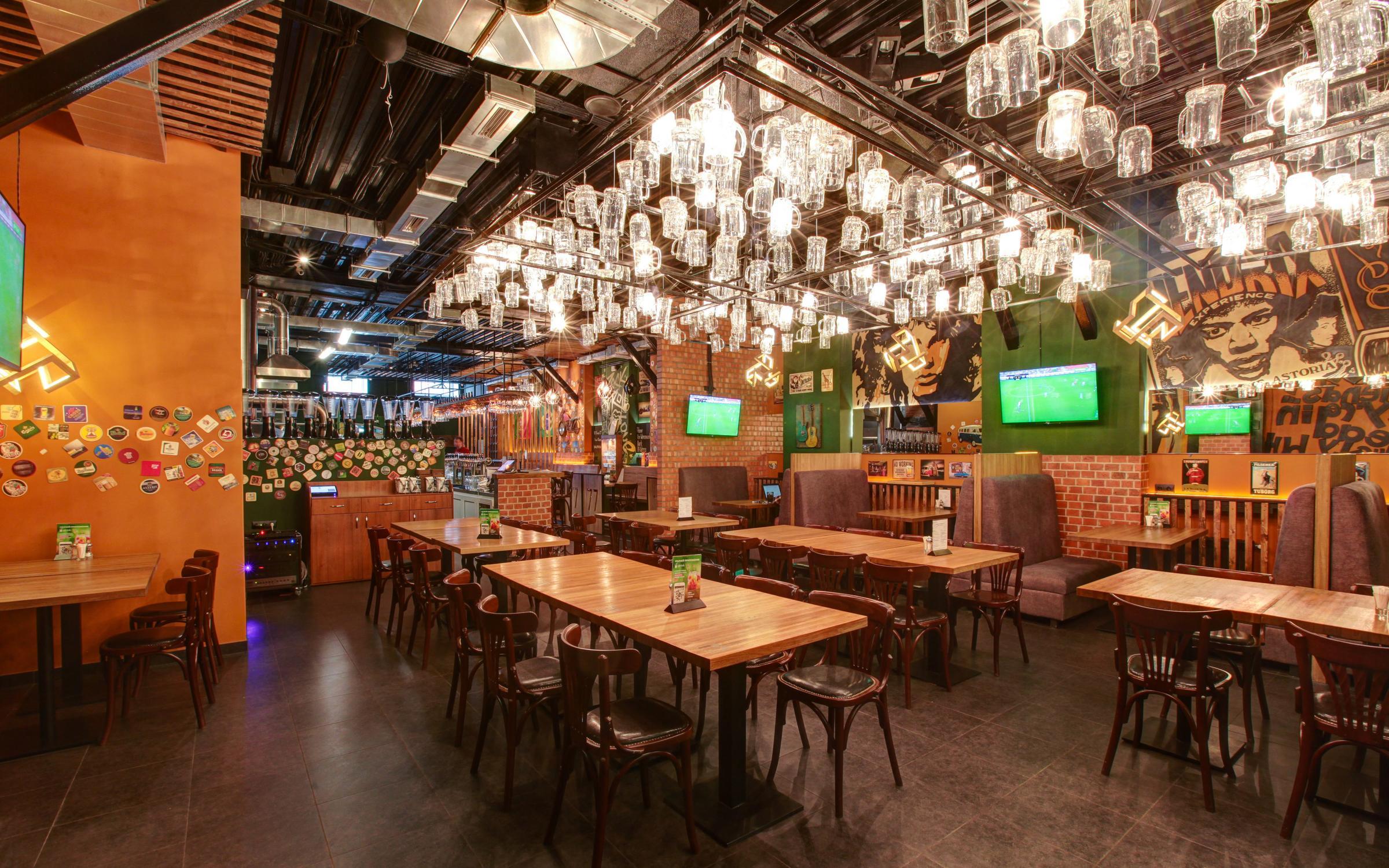 фотография Кафе-бара и пивоварни Пивзавод77 в Спартаковском переулке, 2 стр 1