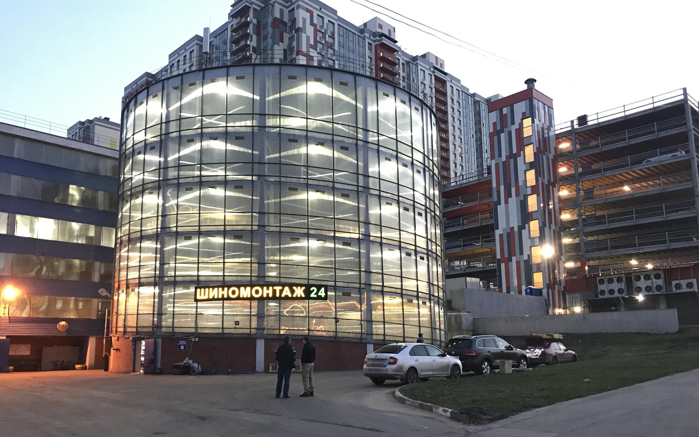 фотография Шиномонтажной мастерской SM24 в Митино