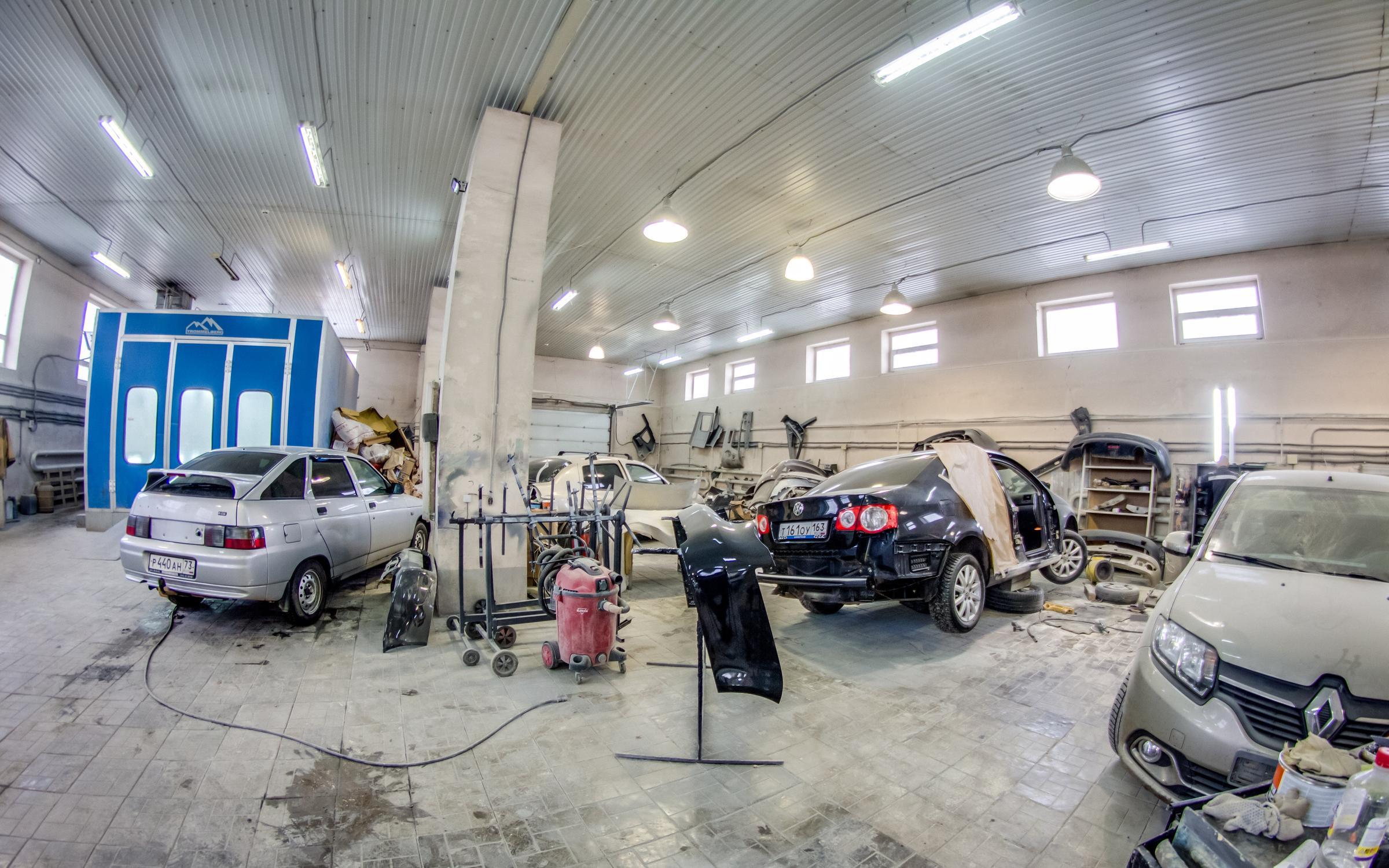 фотография Центра кузовного ремонта Геометрия+ на Товарной улице