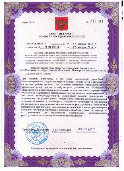 Санаторий Чёрная речка на Приморском шоссе - отзывы, фото, цены ...