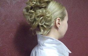 фотография Прическа по длине волос