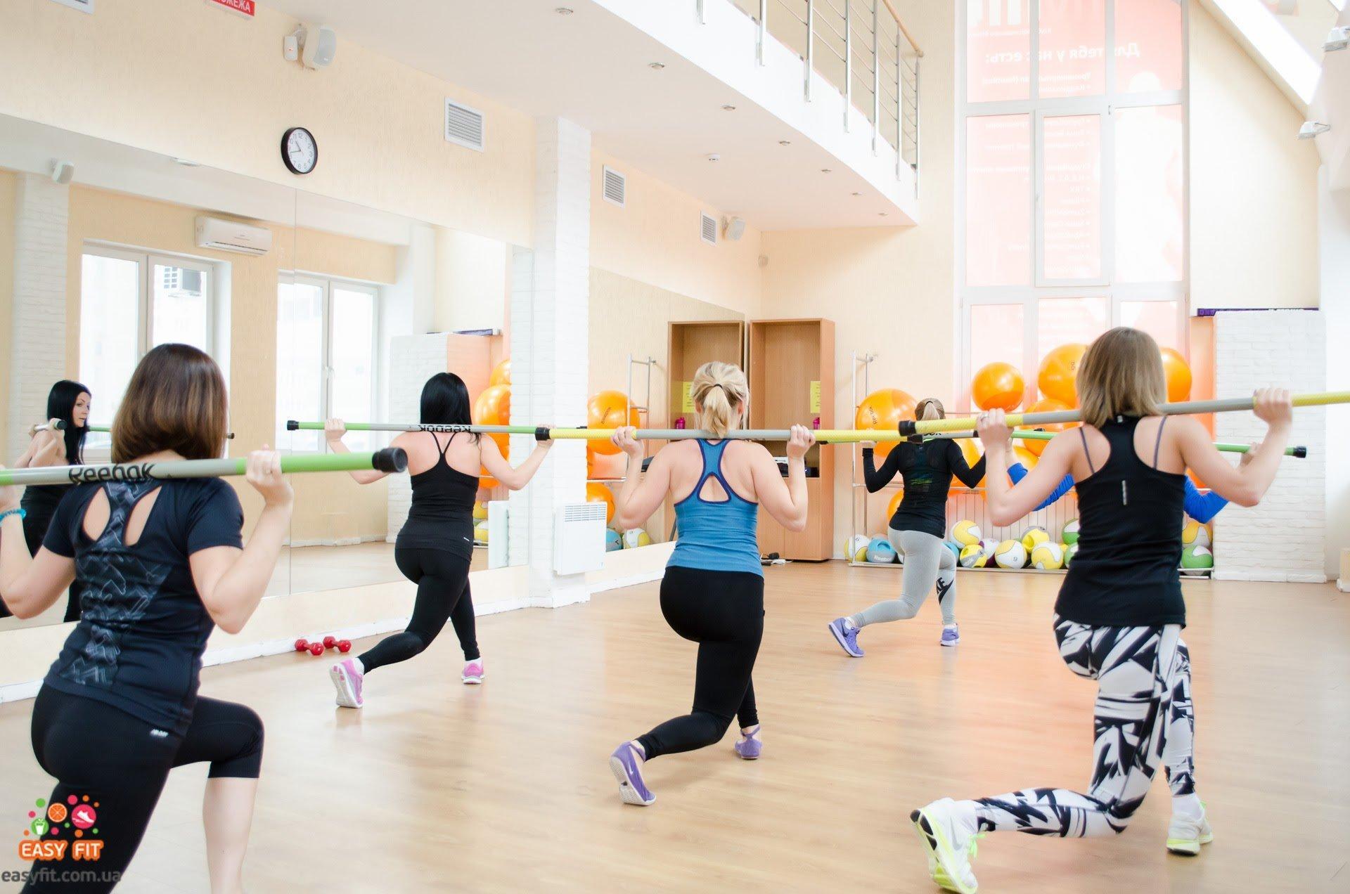 фотография Фитнес-программа для девушек Easy Fit на  Днепровской набережной