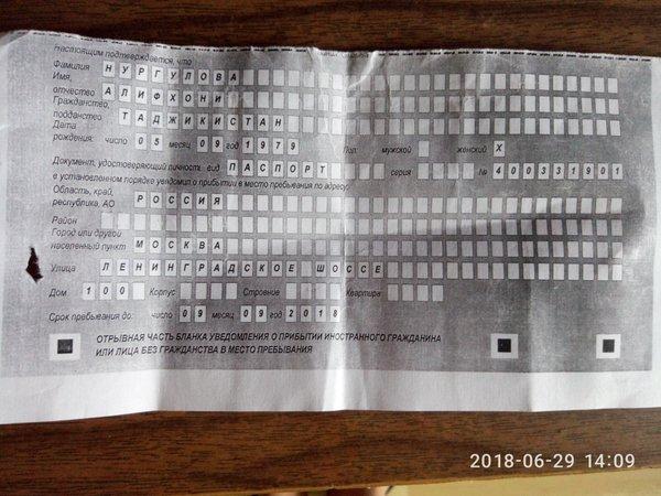 Трудовой договор для фмс в москве Просвирин переулок ндфл и налог на прибыль