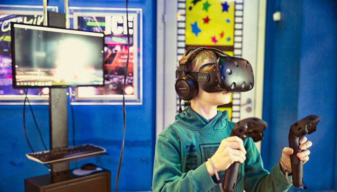 фотография Клуба виртуальной реальности Виртуальный мир в ТЦ Принц Плаза