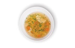 фотография Куриный суп