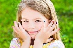 фотография Детский маникюр