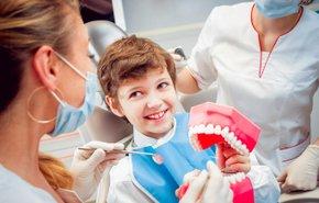 фотография Приварка зуба к протезу