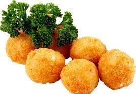фотография Сырные шарики жареные