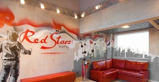 фотография Отеля Red Stars на набережной реки Пряжки