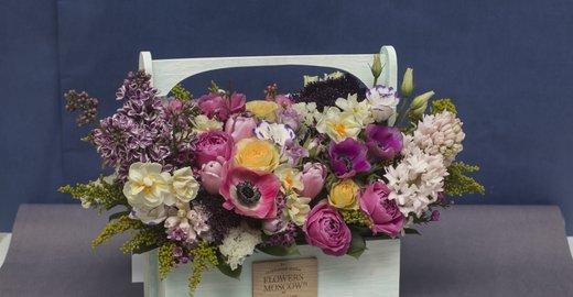 фотография Студии цветов FlowersMoscow24 на Нахимовском проспекте