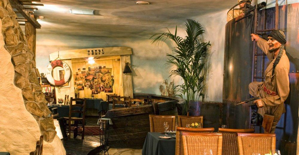 Фотогалерея - Ресторан Белое солнце пустыни на Неглинной улице