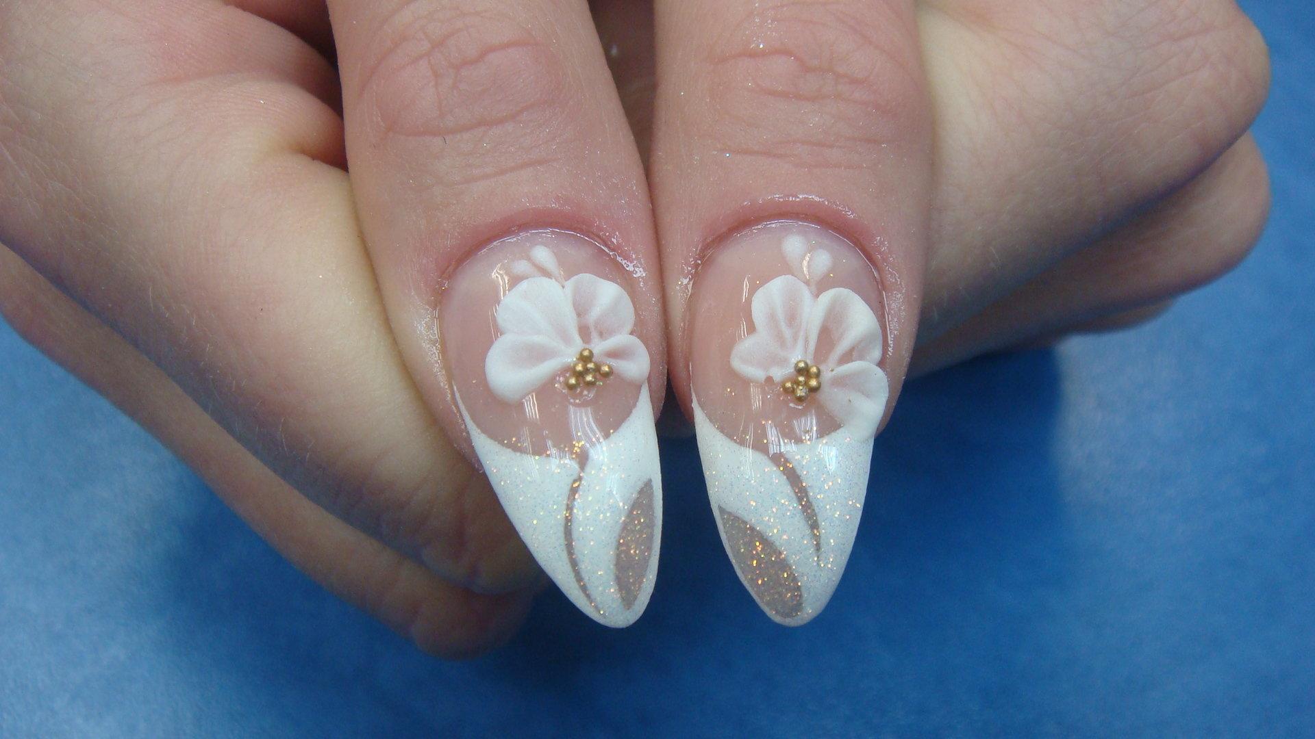 Дизайн ногтей 3 д гелями