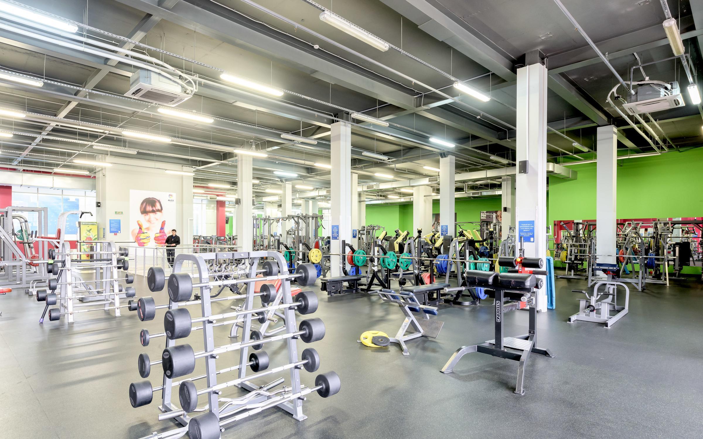фотография Фитнес-клуба ALEX fitness Кудрово на метро Улица Дыбенко
