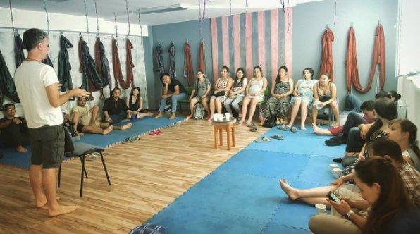 фотография Школы естественных родов Aquamama в Ауэзовском районе