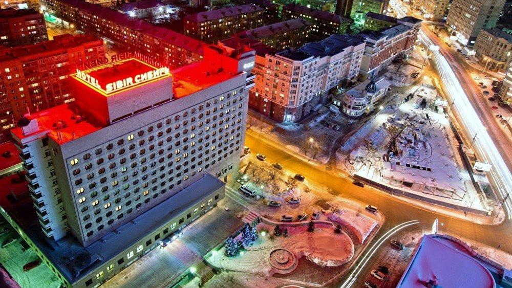 фотография АЗИМУТ Отель Сибирь-Новосибирск на улице Ленина