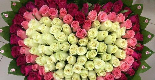 фотография Сеть цветочных салонов Azeriflores на улице Карла Маркса