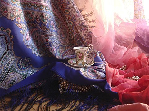 фотография Магазина Павловопосадские платки