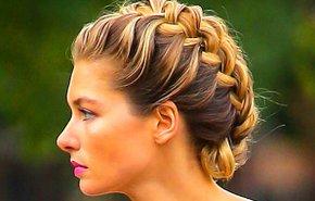 фотография Прическа на длинные волосы
