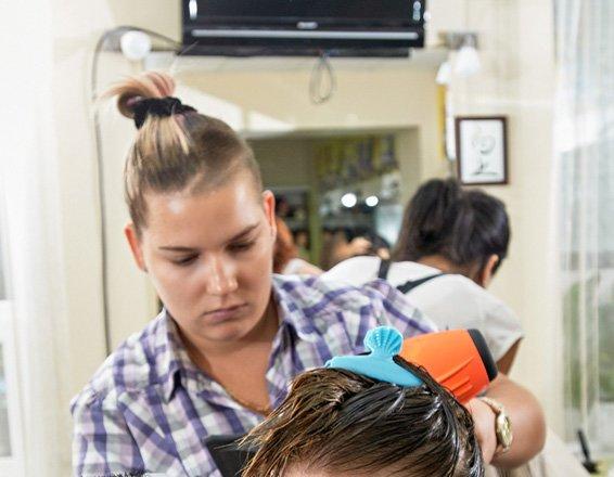 фотография Академия парикмахерского искусства Людмилы Абрамовой Центр моды на Воскресенской улице, 4