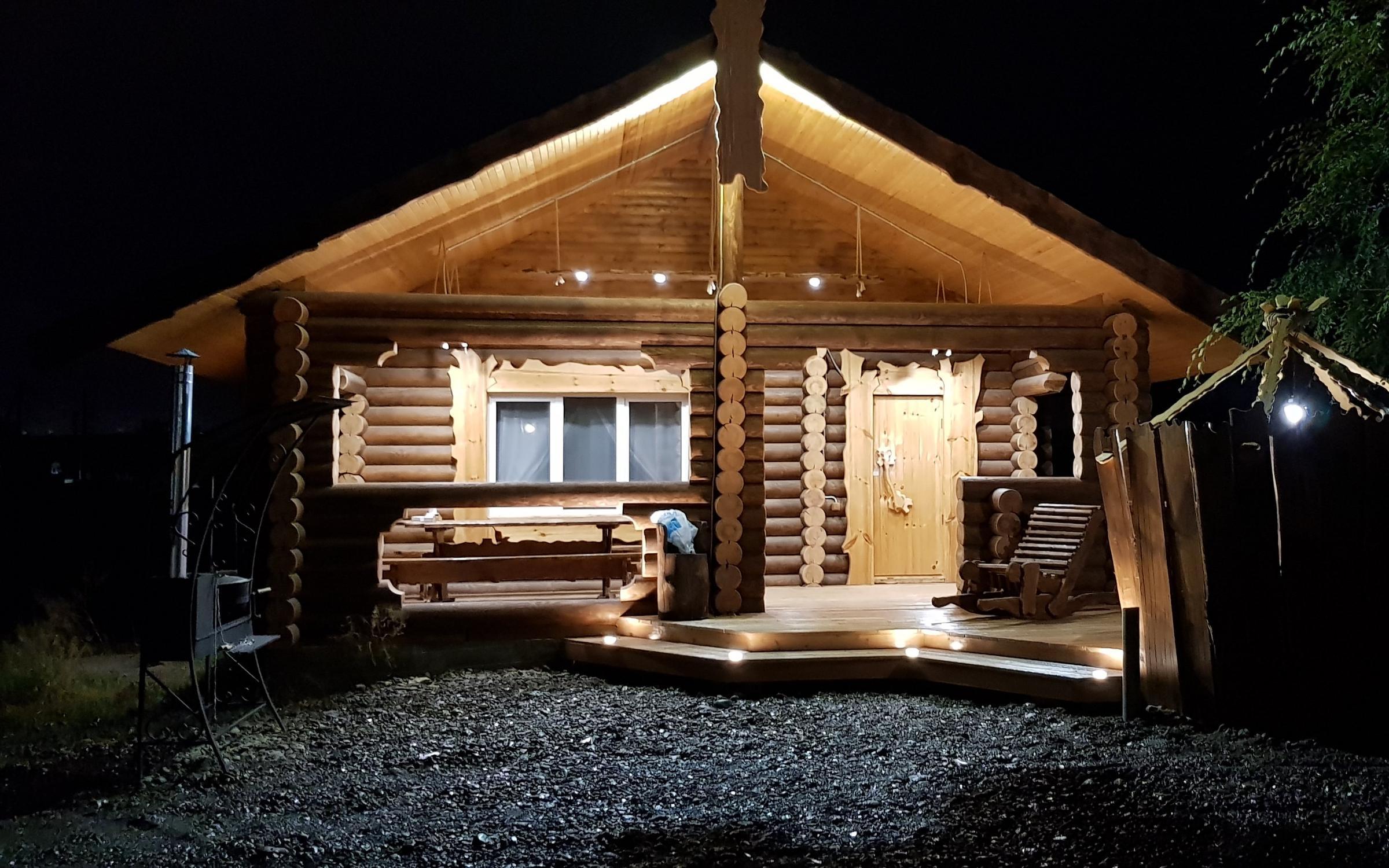 фотография Бани на дровах Красноярская парильня в Солонцах