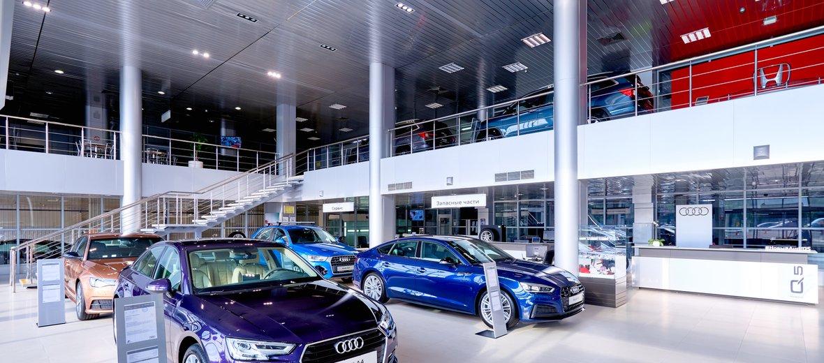 Фотогалерея - Официальный дилер Audi АЦ Беляево